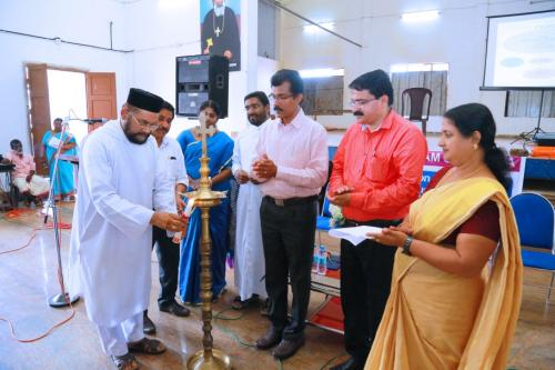 Inauguration of workshop for Phy Edn. Teachers organised by Sahodaya Kottayam