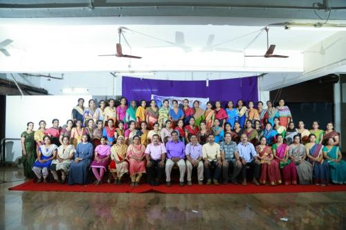 Participants of CBP program on Mathematics by CBSE CoE